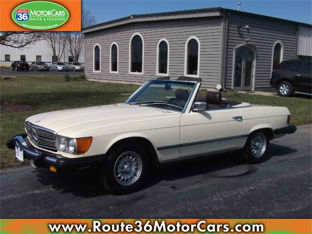 1985 mercedes benz 380sl for sale cc for Mercedes benz ohio