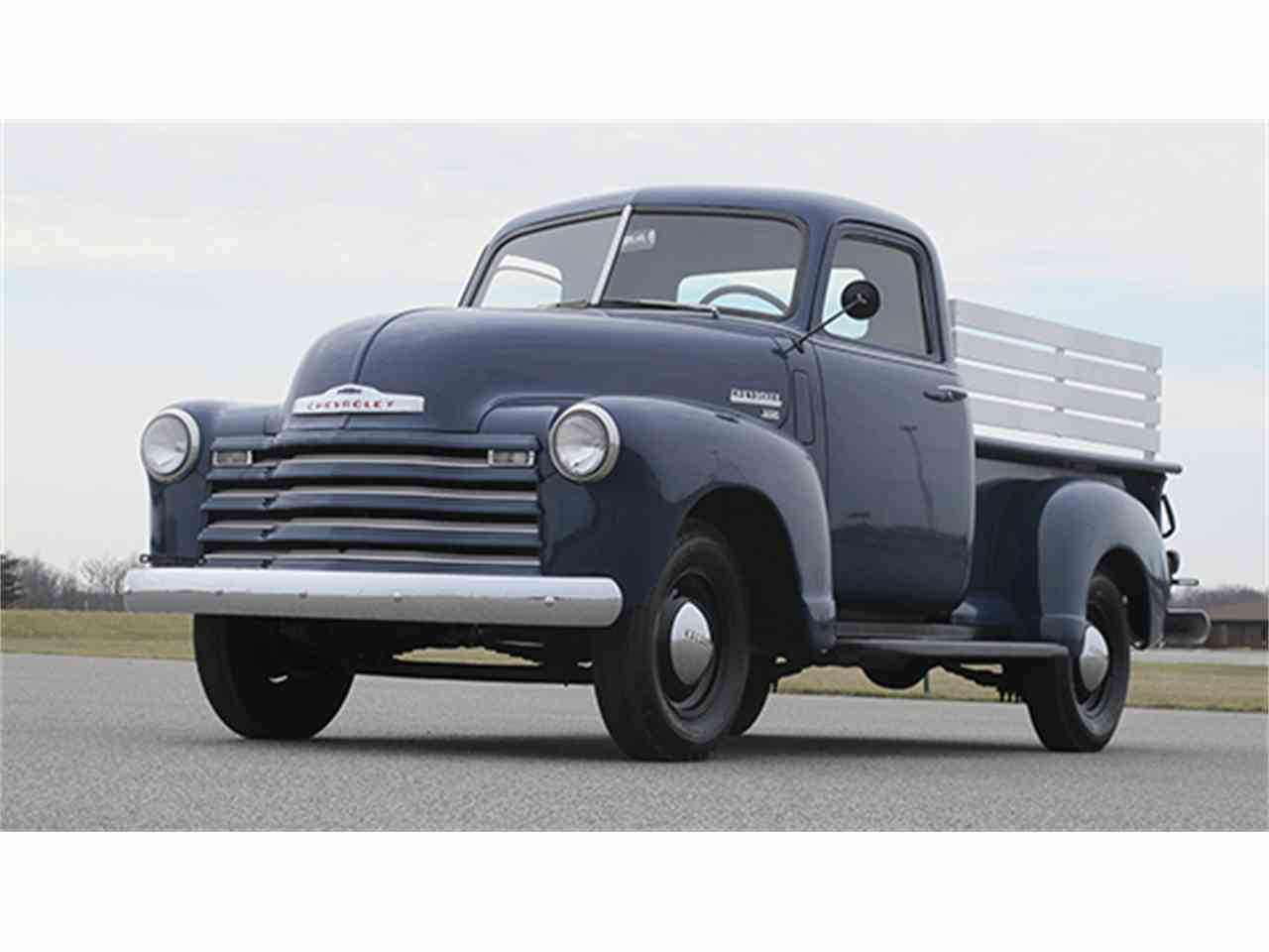 1950 chevrolet 3100 1 2 ton pickup for sale cc 968441. Black Bedroom Furniture Sets. Home Design Ideas