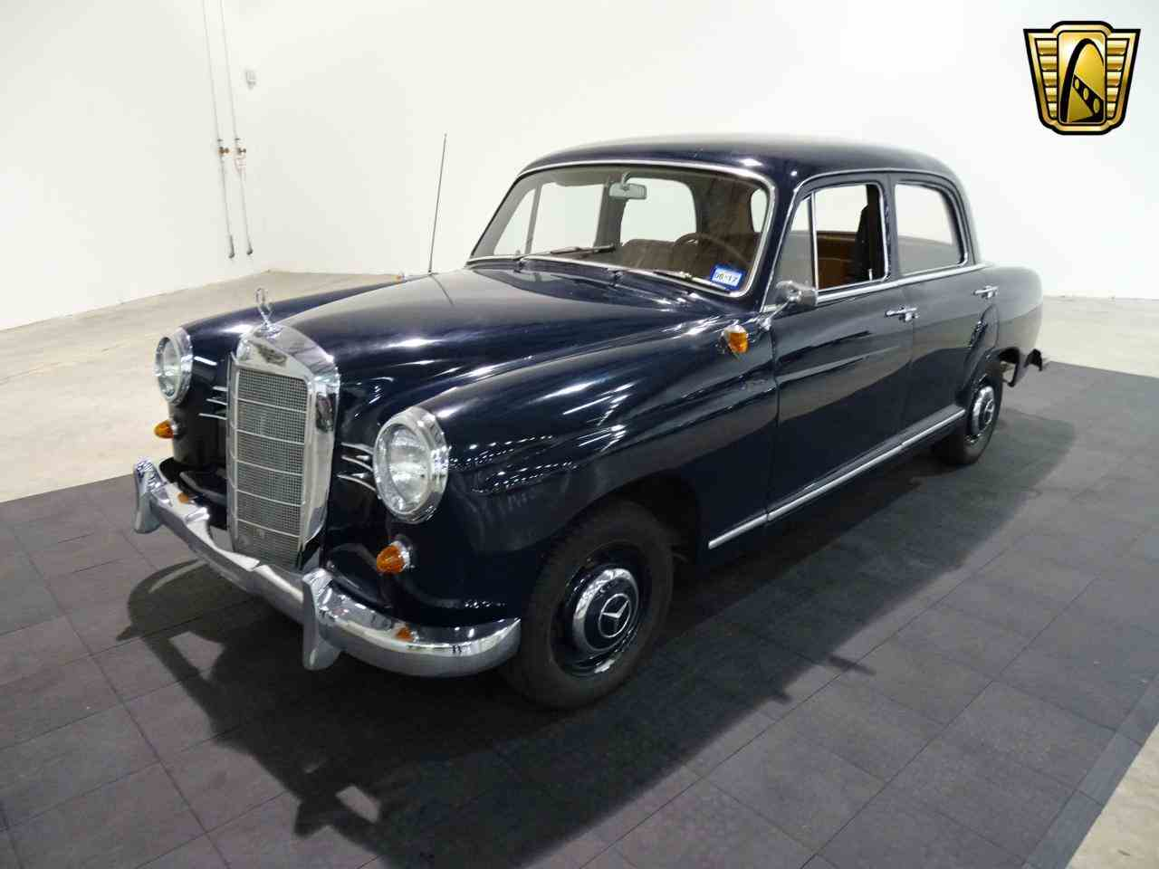 1959 mercedes benz 190 for sale cc 968488 for Mercedes benz for sale houston