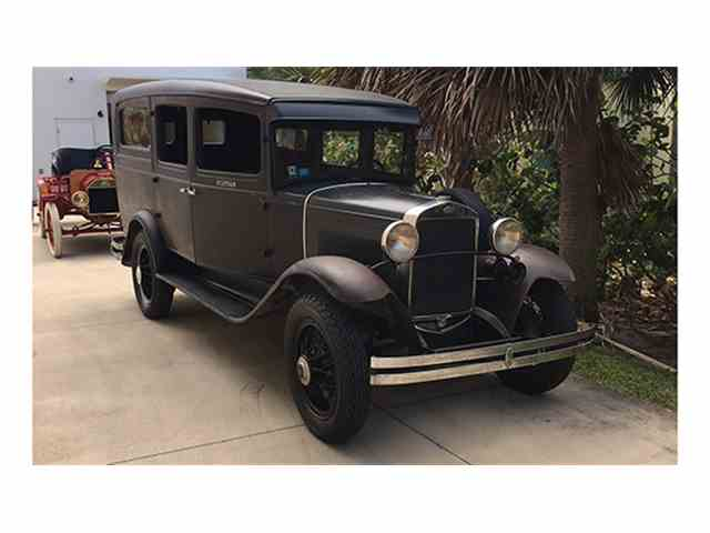 1931 Ford Model A Funeral Coach Gray | 968514