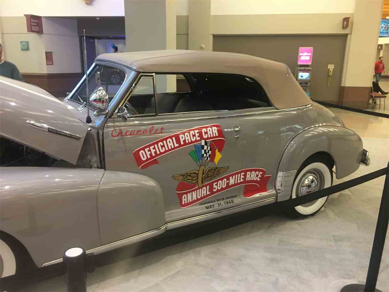 1948 Chevrolet CONVERTIBLE FIRST INDY PACE CAR for Sale ...