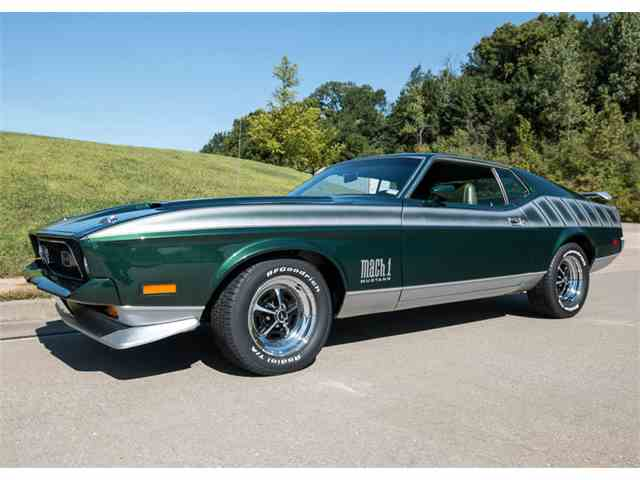 1972 Ford Mustang Mach 1 | 968846
