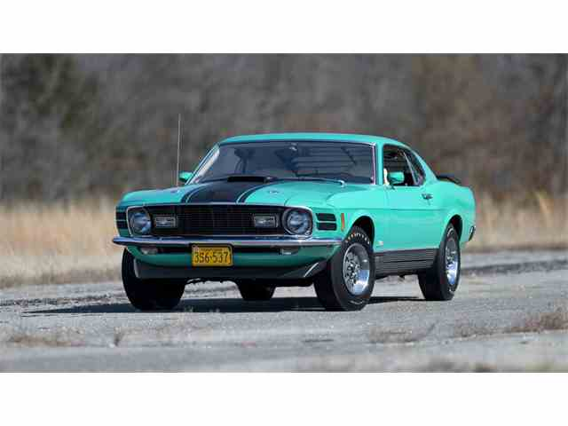 1970 Ford Mustang Mach 1 | 969172