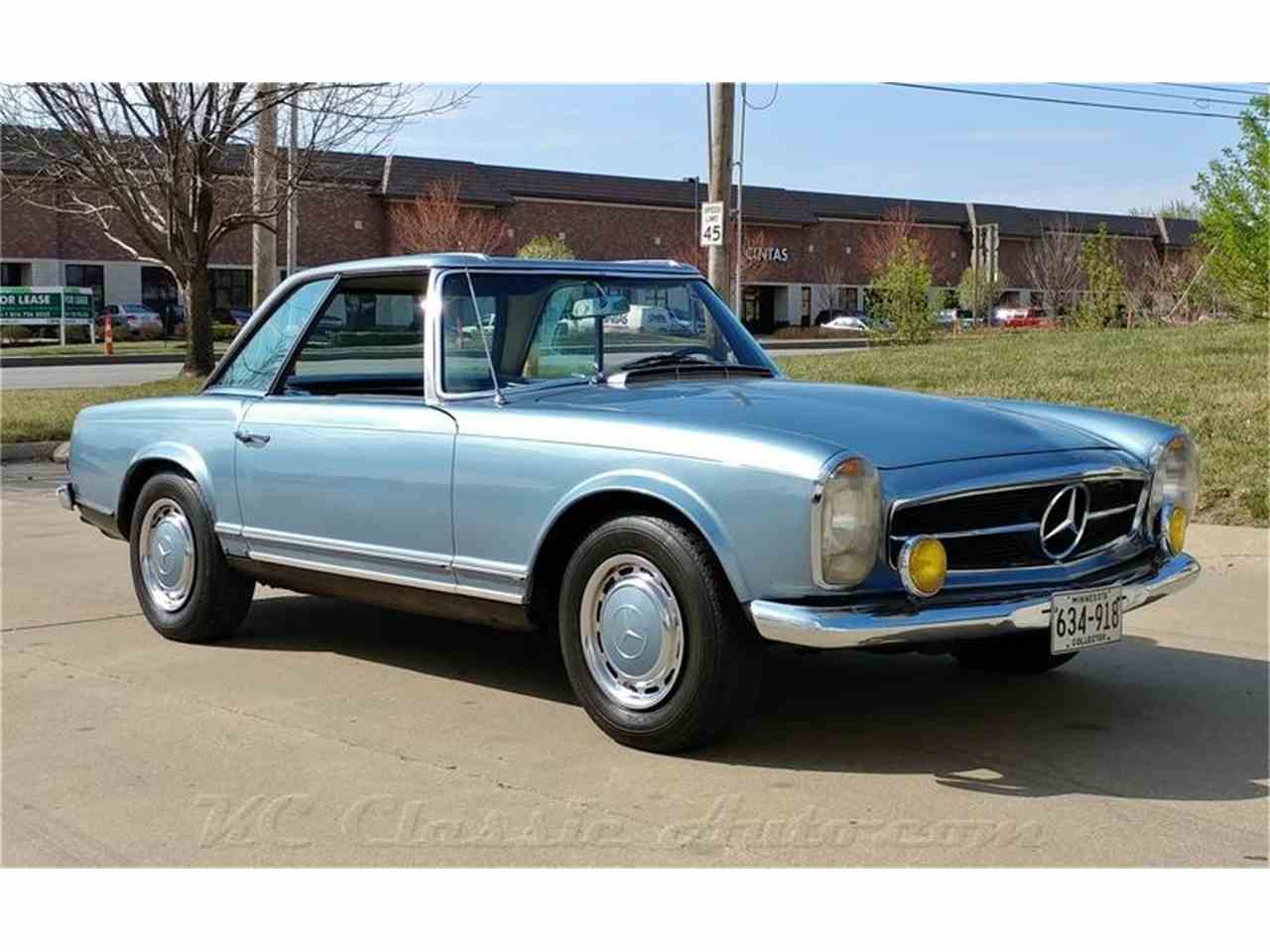 1967 mercedes benz 250sl pending deal for sale for Mercedes benz of kc