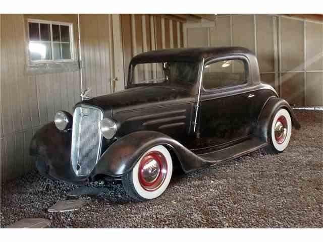 1934 Chevrolet 3-Window Pickup   969612