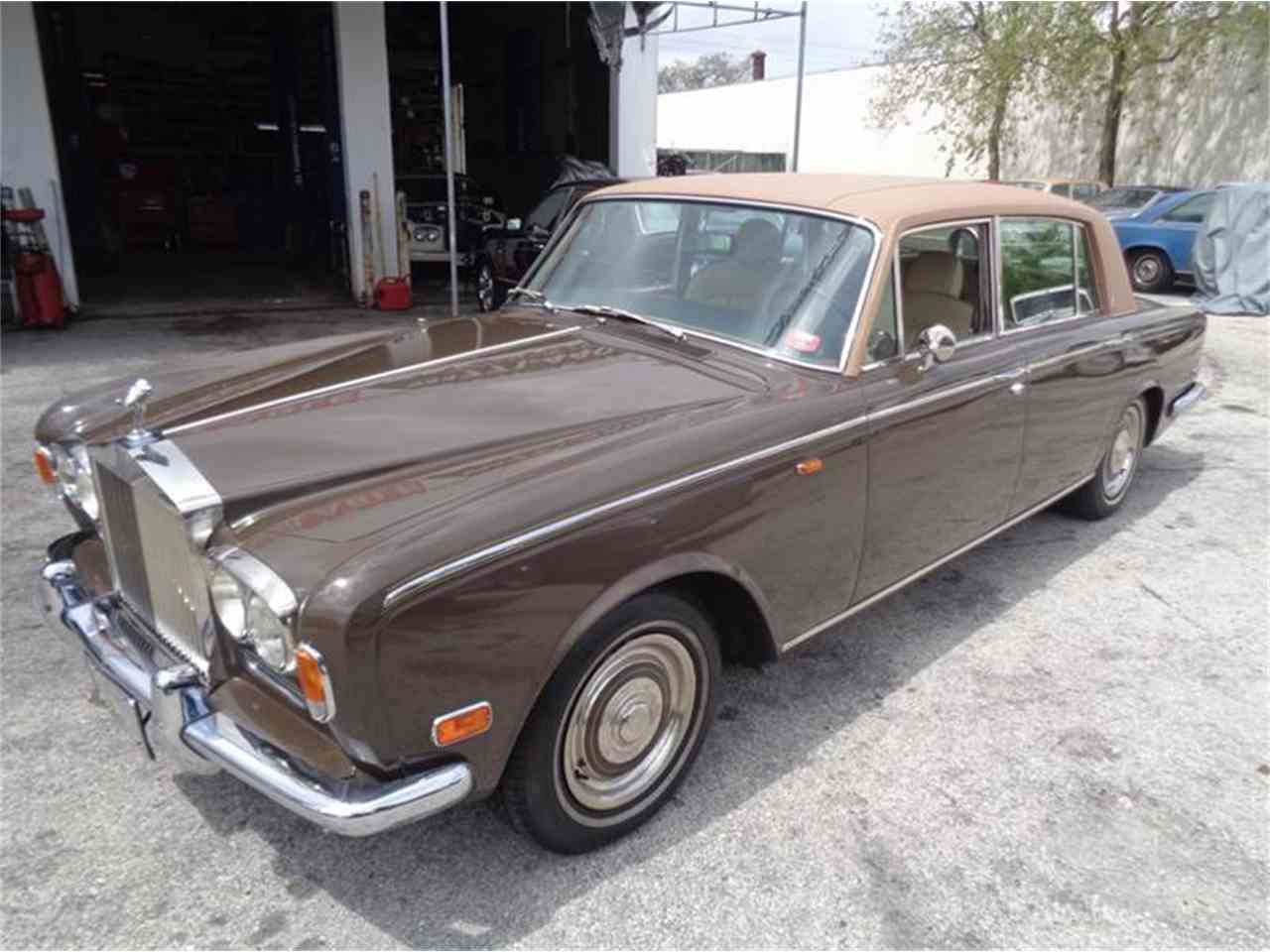 1972 rolls royce silver shadow for sale cc 969909. Black Bedroom Furniture Sets. Home Design Ideas