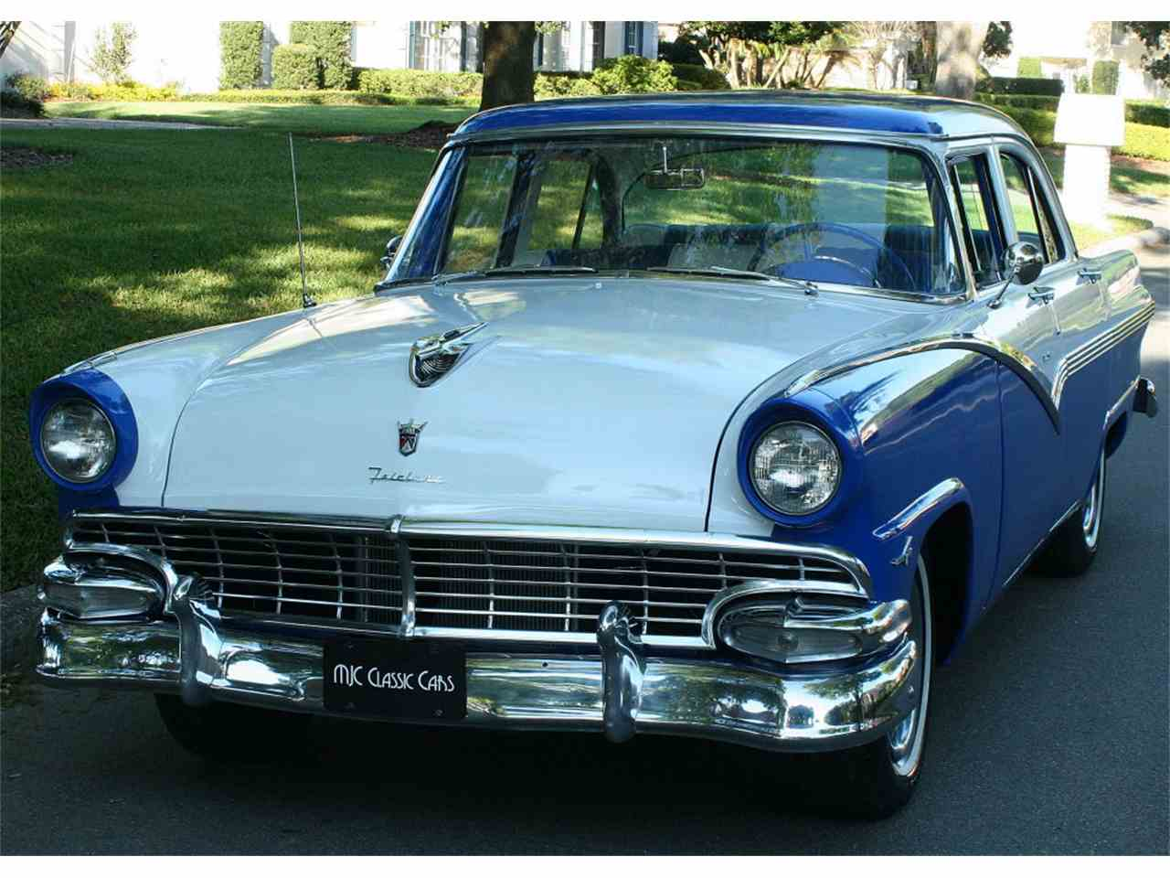 1956 ford fairlane for sale cc 971019. Black Bedroom Furniture Sets. Home Design Ideas