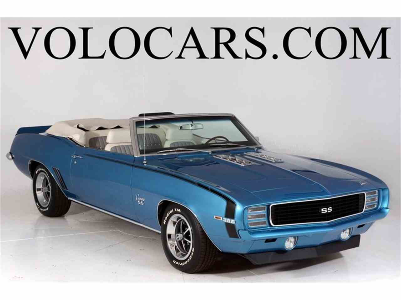 1969 chevrolet camaro rs ss for sale cc 971180. Black Bedroom Furniture Sets. Home Design Ideas
