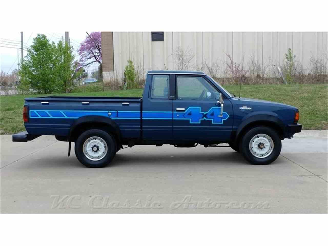 1983 nissan 720 pickup king cab 4x4 for sale cc 971194. Black Bedroom Furniture Sets. Home Design Ideas