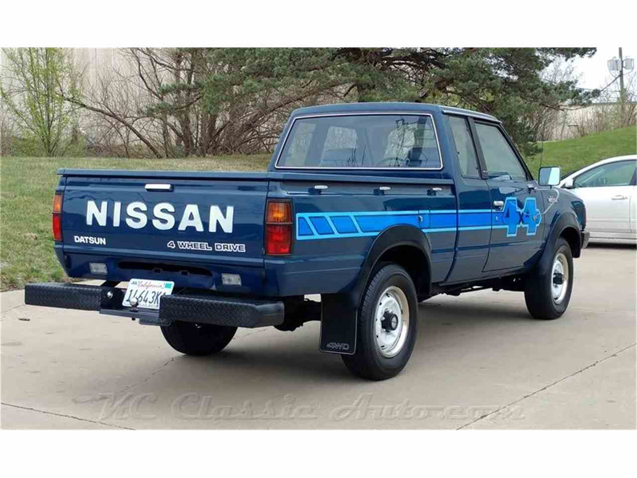 1983 nissan 720 pickup king cab 4x4 for sale cc 971194. Black Bedroom Furniture Sets. Home Design Ideas