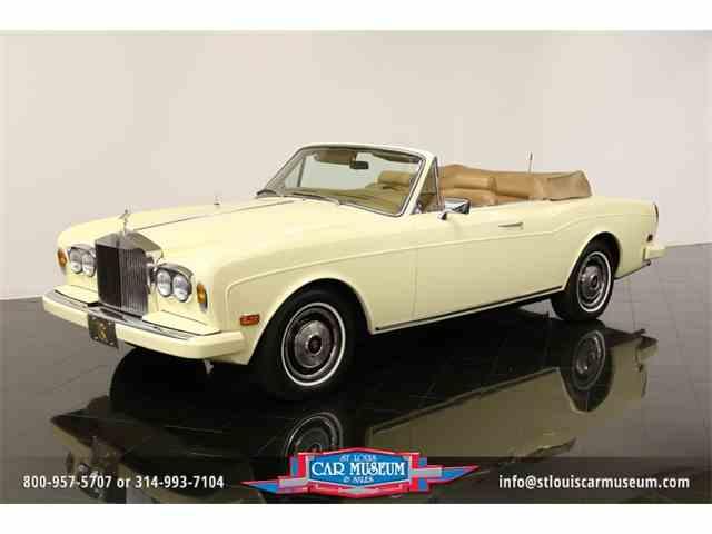 1982 Rolls Royce Corniche Drophead Coupe | 971206