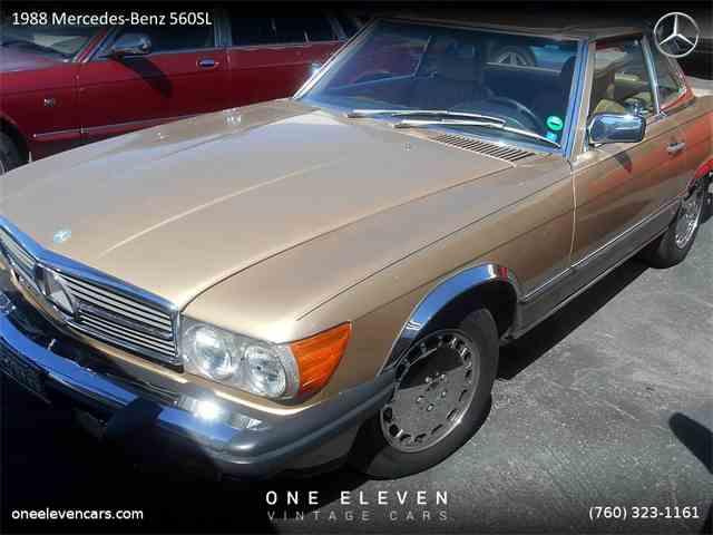 1988 Mercedes-Benz 560SL   971208