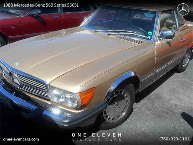 1988 Mercedes-Benz 560SL | 971208
