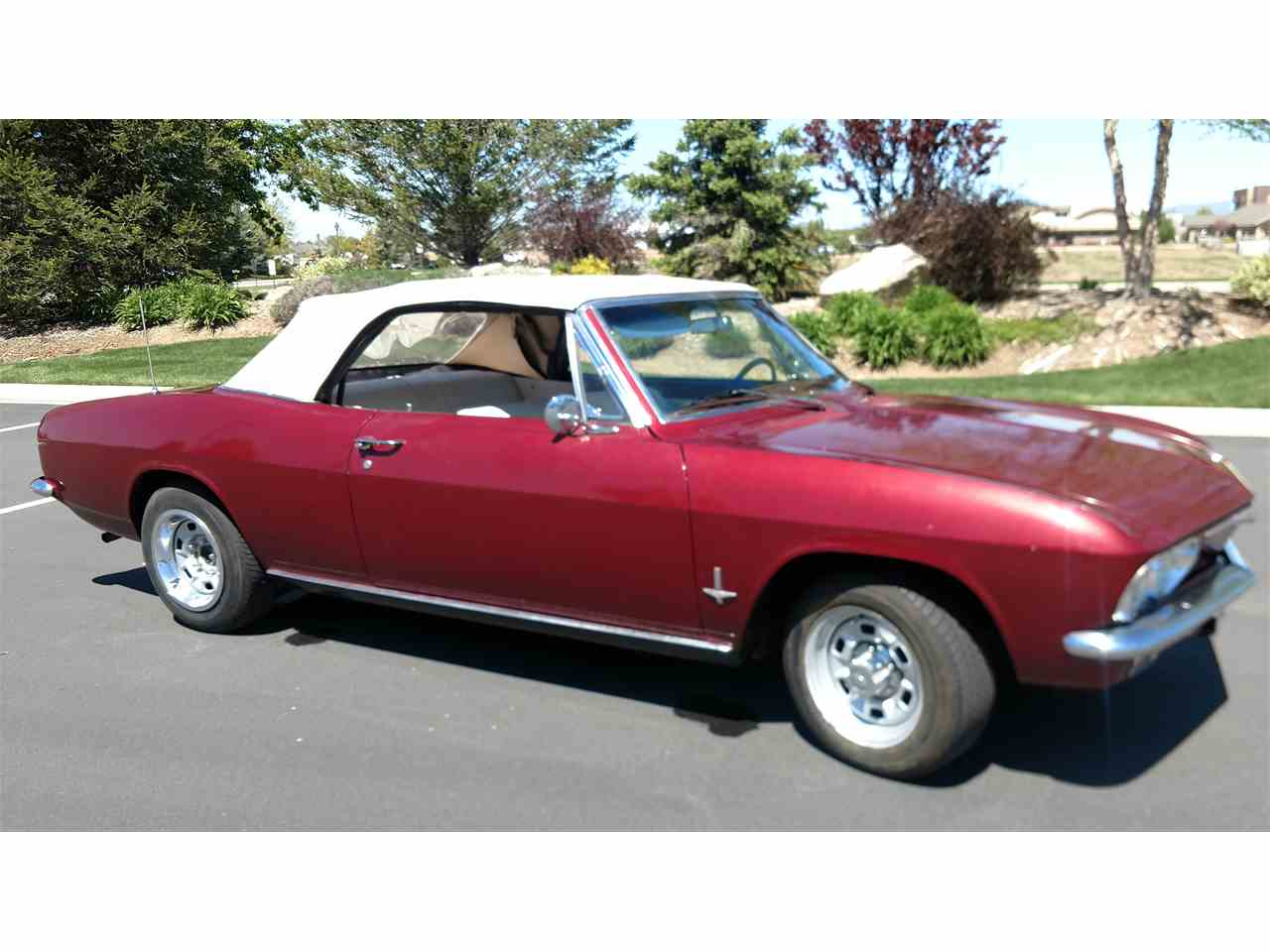 1965 Chevrolet Corvair Monza For Sale Classiccars Com