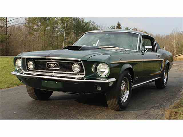 1968 Ford Mustang GT Fastback 428 CJ | 971333