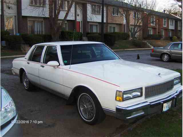 Picture of '88 Chevrolet Caprice located in Baltimore Maryland - KTOS