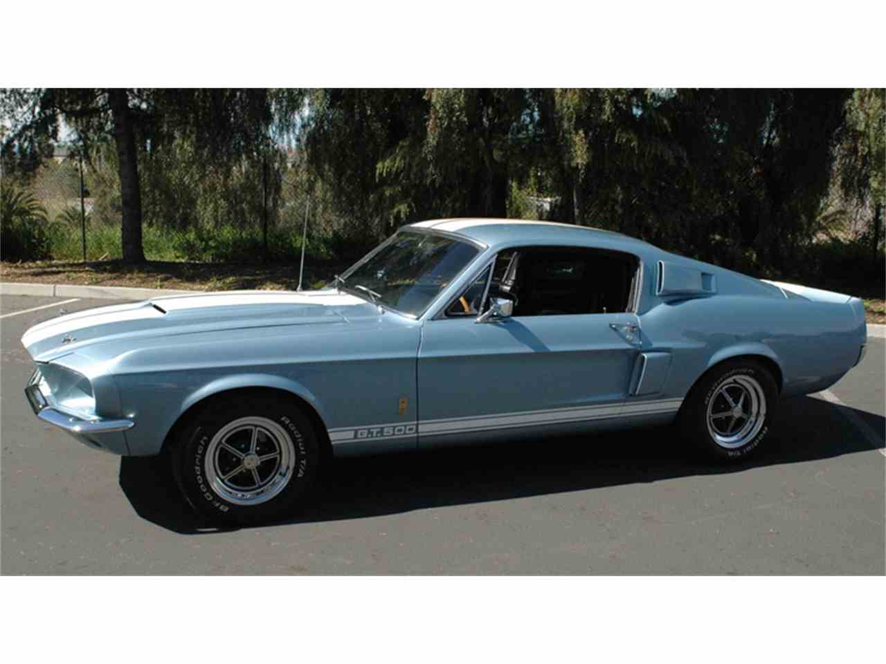 1967 ford mustang shelby gt500 for sale cc 971609. Black Bedroom Furniture Sets. Home Design Ideas