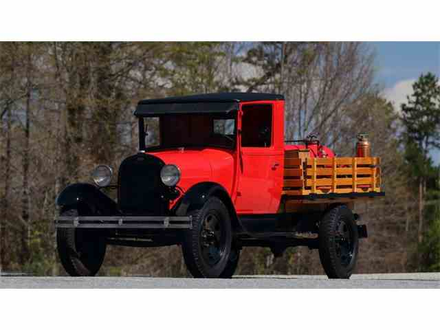 1930 Ford Stake Bed Fire Truck | 971719