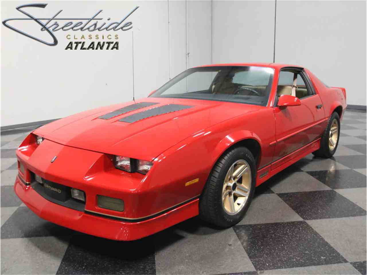 1986 chevrolet camaro iroc z28 for sale cc 971860. Black Bedroom Furniture Sets. Home Design Ideas