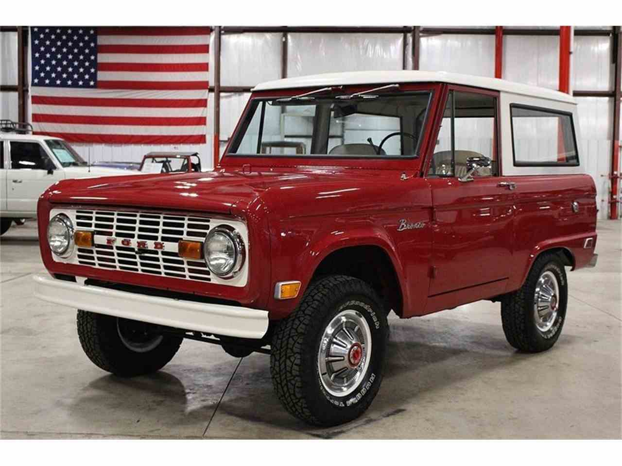 1969 ford bronco for sale cc 971868. Black Bedroom Furniture Sets. Home Design Ideas