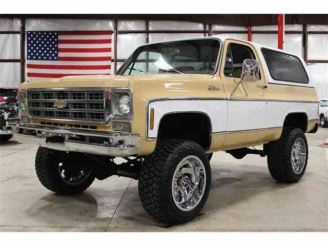 Classic Chevrolet Blazer For Sale On Classiccars Com 49