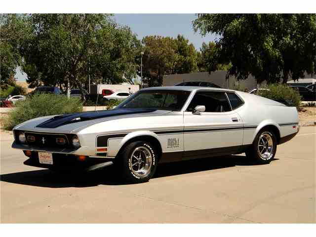 1971 Ford Mustang Mach 1 | 970199