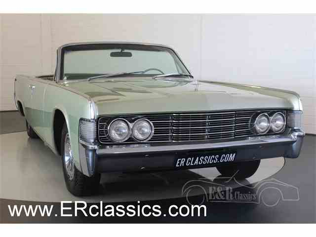 1965 Lincoln Continental | 972161
