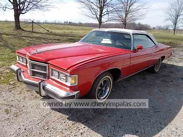1975 Pontiac Grand Ville Convertible | 972223