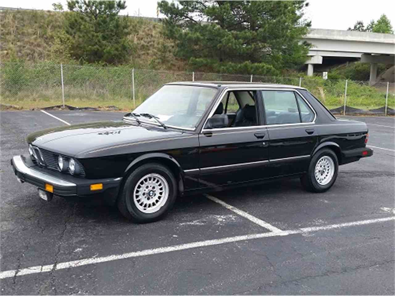 1986 bmw 528e for sale cc 972424. Black Bedroom Furniture Sets. Home Design Ideas
