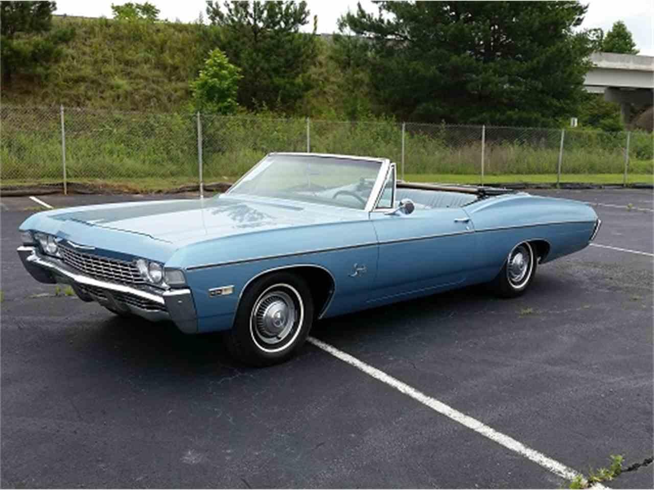 Impala 97 chevy impala : 1968 Chevrolet Impala for Sale | ClassicCars.com | CC-972462