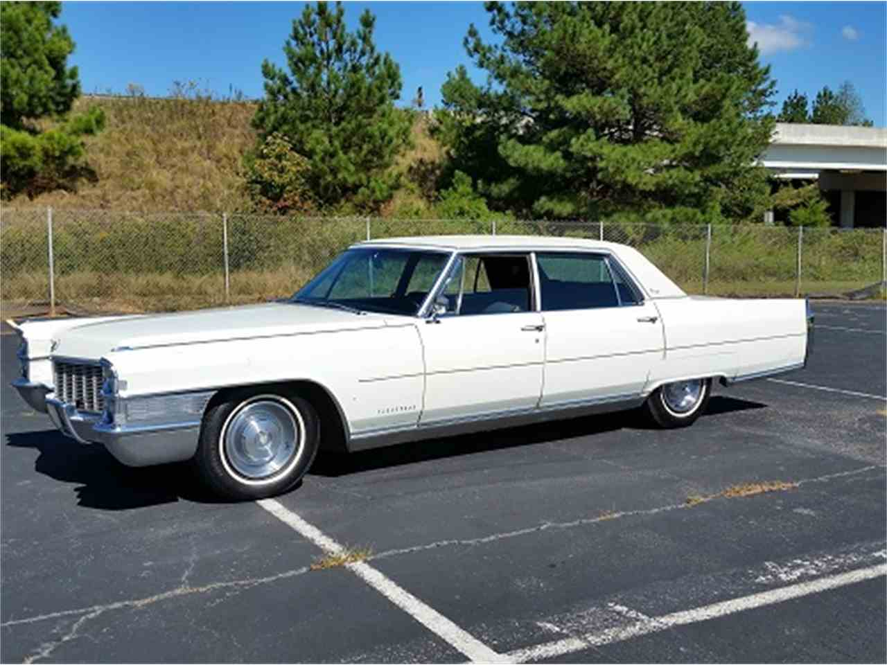 1965 Cadillac Fleetwood Brougham For Sale Classiccars