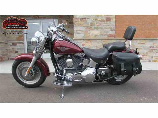 2002 Harley-Davidson FLSTF - Softail Fat Boy | 972688