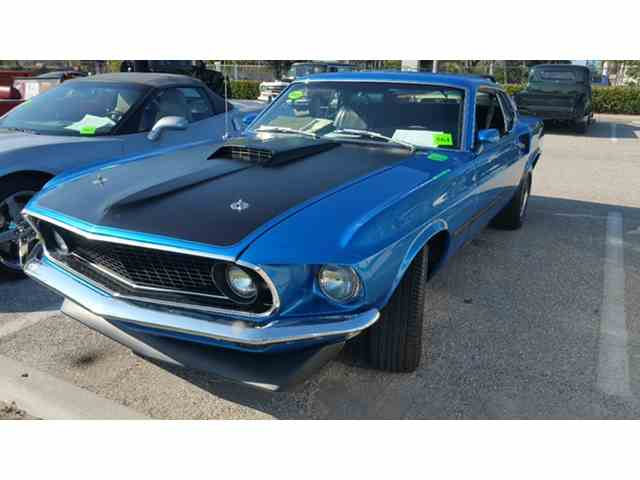 1969 Ford Mustang Mach 1 | 972755