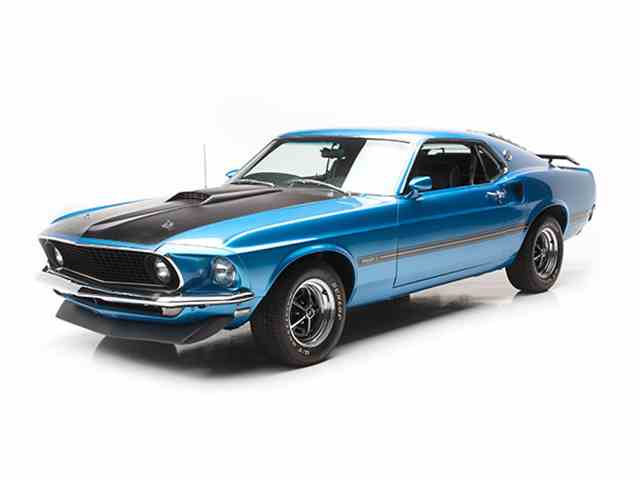 1969 Ford Mustang Mach 1 For Sale On Classiccars Com 18
