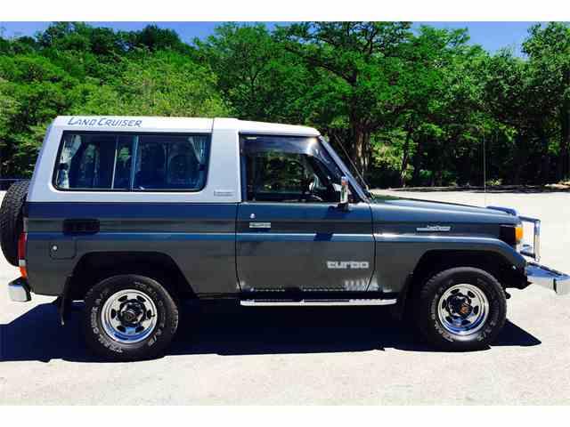 1989 Toyota Land Cruiser BJ   972776