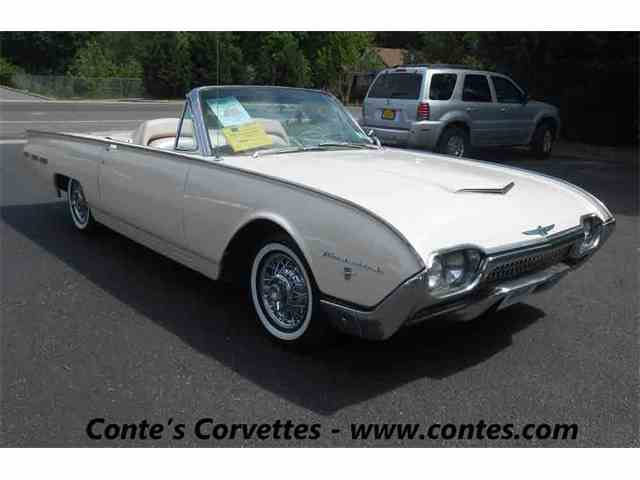 1962 Ford TBIRD Roadster | 972800