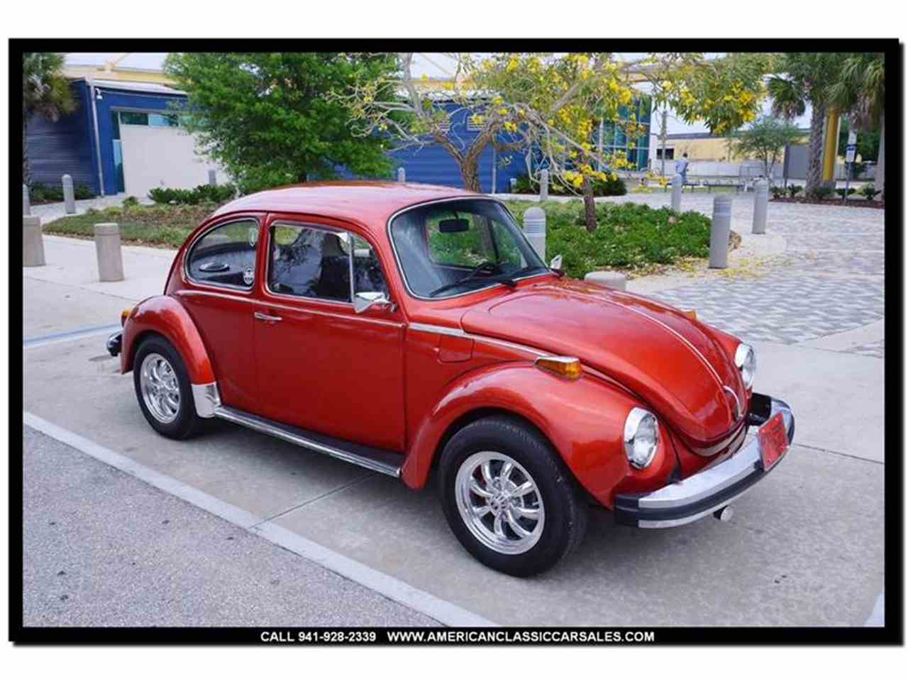 1974 volkswagen super beetle for sale cc 973161. Black Bedroom Furniture Sets. Home Design Ideas