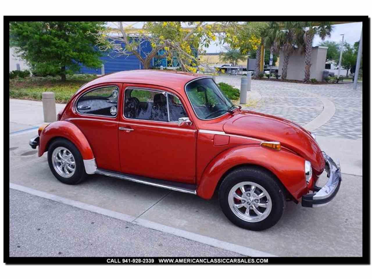 1974 volkswagen super beetle for sale cc 973161. Black Bedroom Furniture Sets. Home Design Ideas