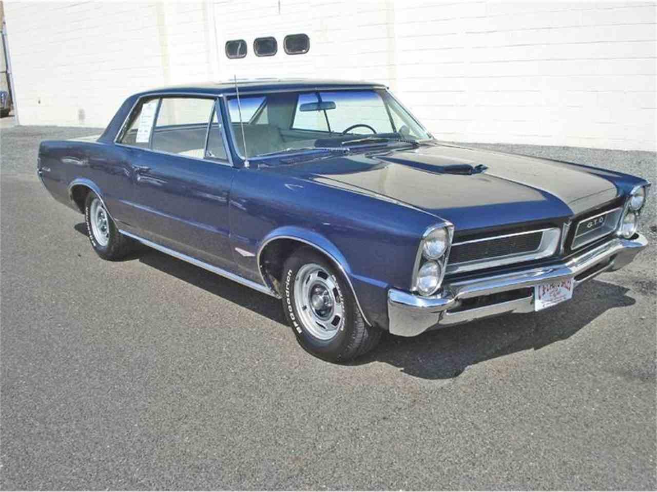 1965 Pontiac Gto For Sale Classiccars Com Cc 973215