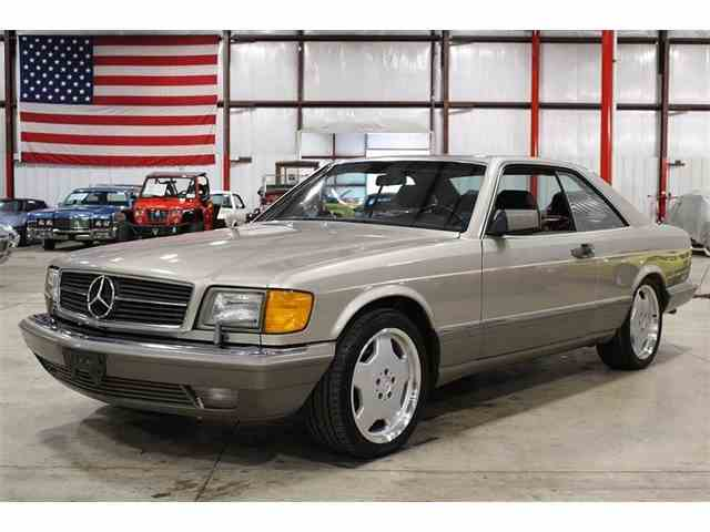 classic mercedes benz 560sec for sale on 10 available. Black Bedroom Furniture Sets. Home Design Ideas