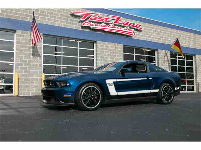 2012 Ford Mustang Boss | 973395