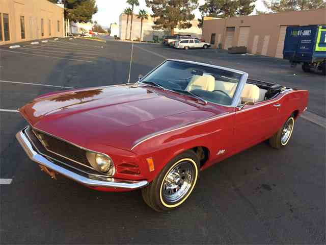 1970 Ford Mustang Convertible | 973456
