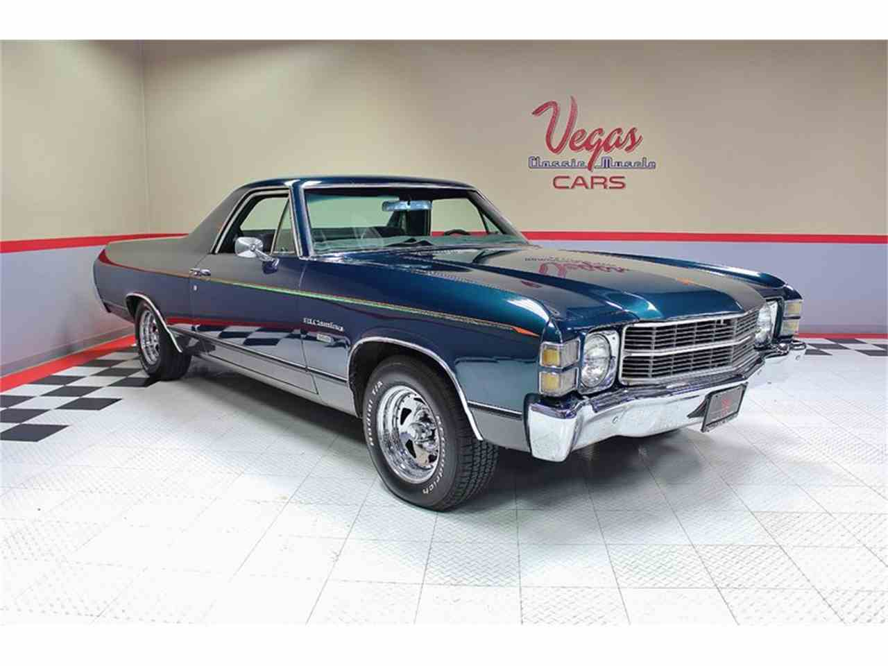 1971 Chevrolet El Camino for Sale | ClassicCars.com | CC-973744