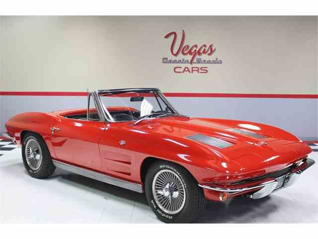 1963 Chevrolet Corvette Stingray Convertible | 973761