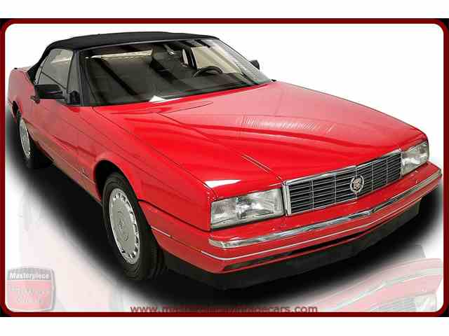 Classic Cadillac Allante for Sale on ClassicCarscom  32 Available