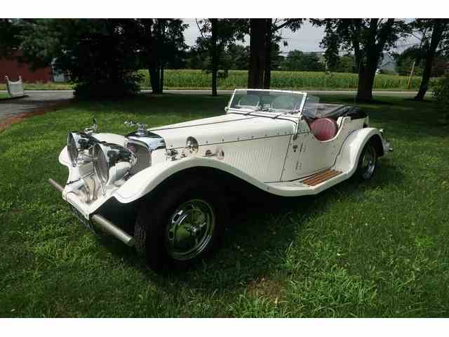 1936 Jaguar SS 100 CONVERTIBLE REPLICA   973786