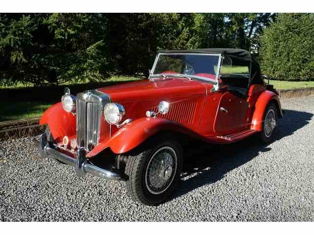 1952 MG TD REPLICA AUTHENTIC TO ORIGIN | 973788