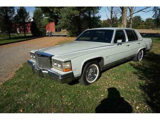 1988 Cadillac Fleetwood Brougham | 973791