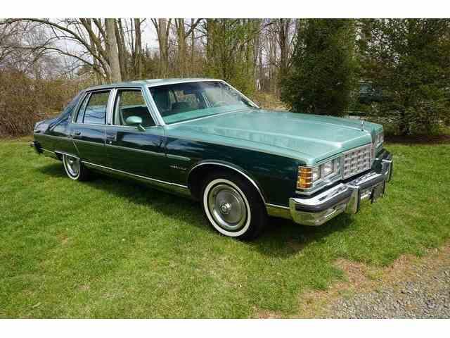 1977 Pontiac bonneville broughman 25,000 mi | 973793