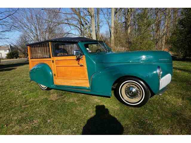 1941 Studebaker PRESIDENT WOODY WGN CONVERTIBL | 973800